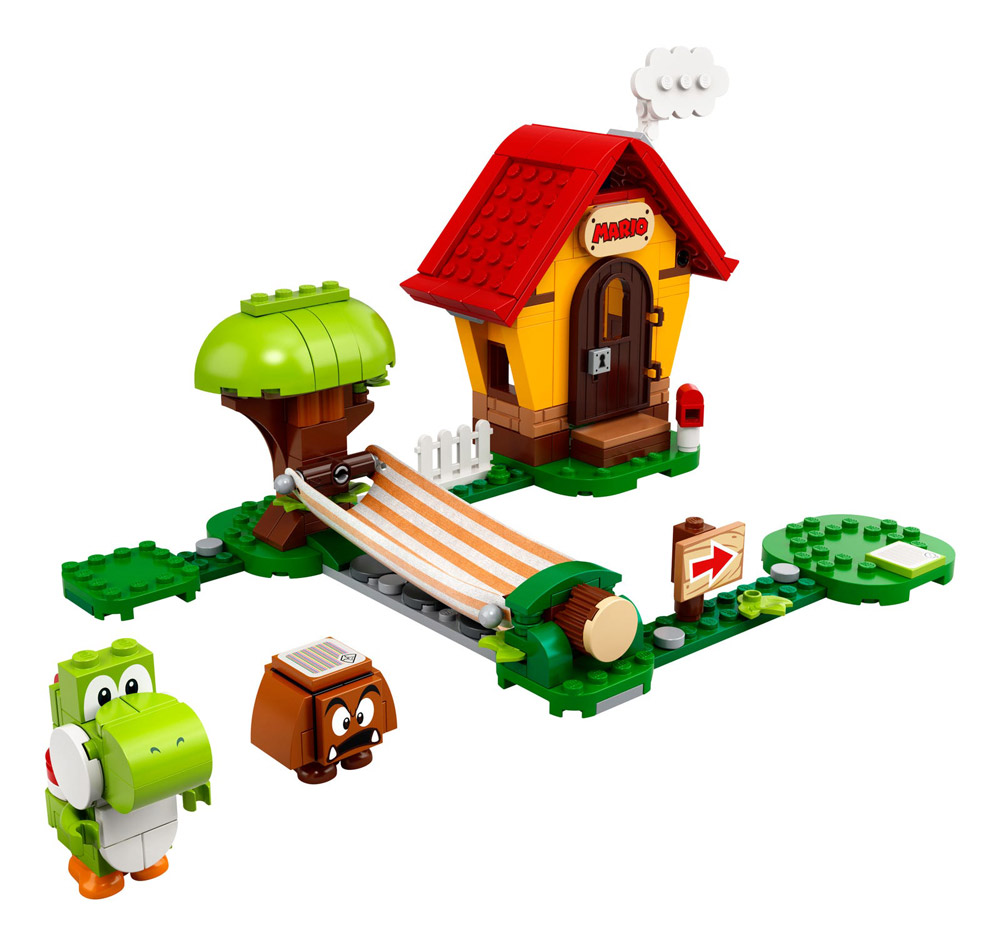 Lego Super Mario Theme Mario's House and Yoshi 71367