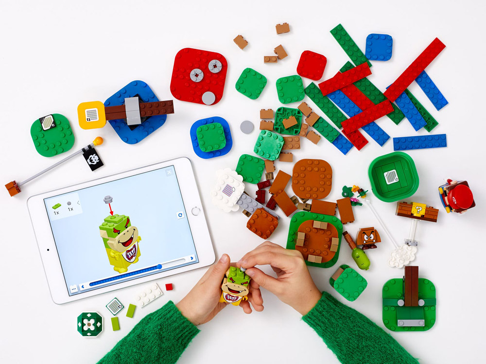 Lego Super Mario Theme Building App