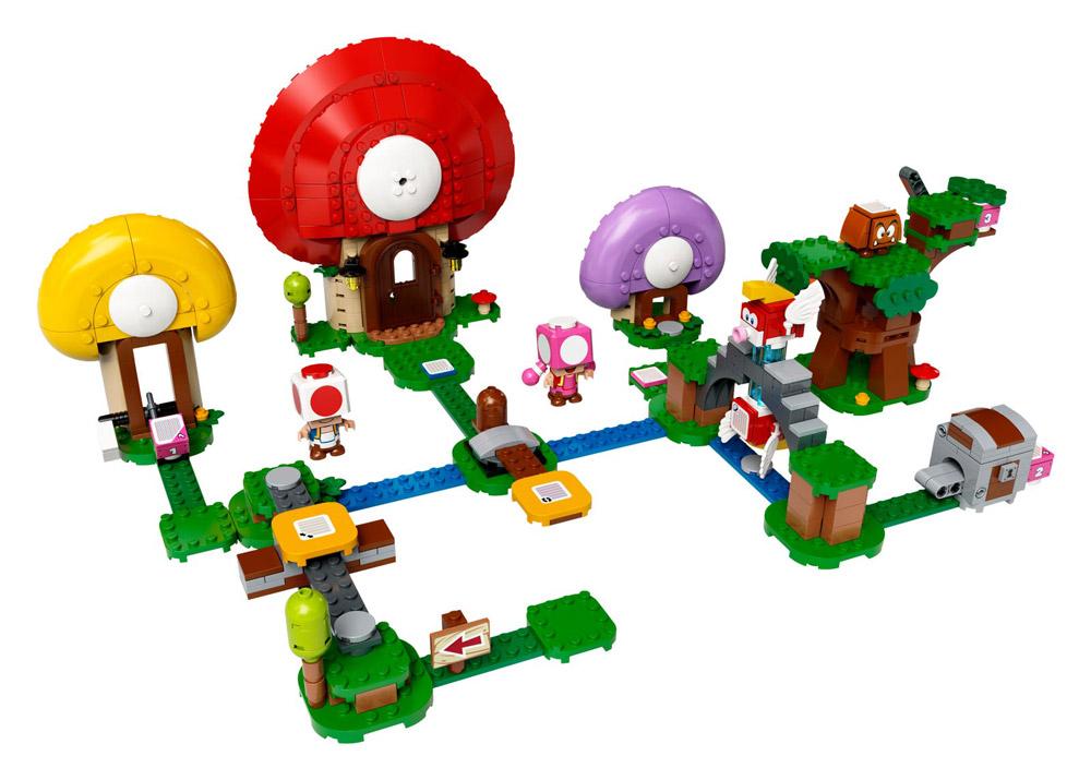 Lego Super Mario Theme Toad's Treasure Hunt 71368