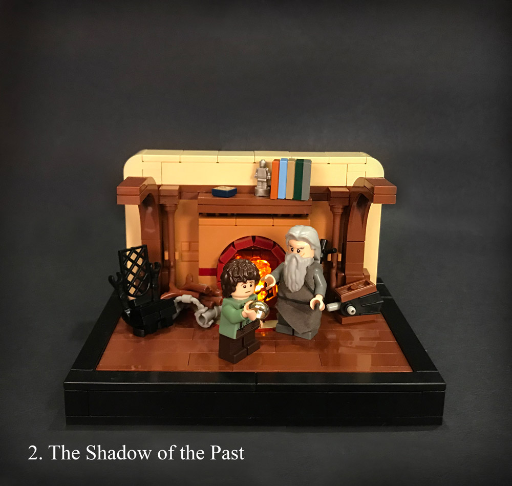 Chapter 2: The Shadow of the Past, A Lego LOTR Series
