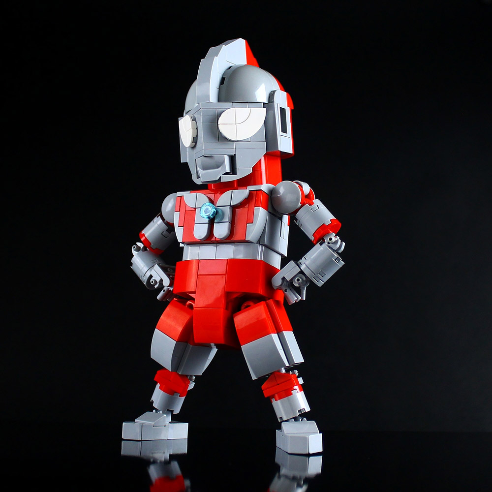 Lego Ultraman Will Save The World
