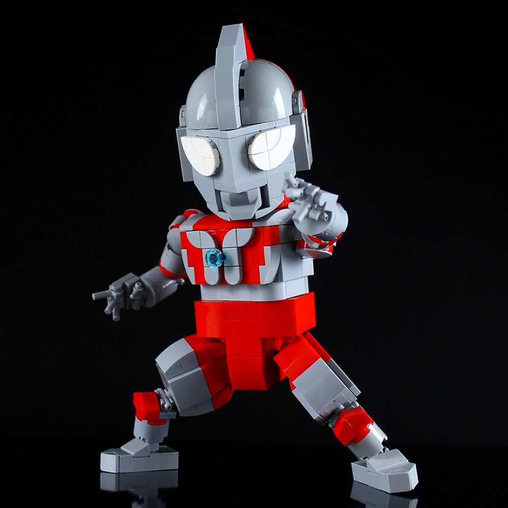 Lego Ultraman Will Save The World, Hero Pose