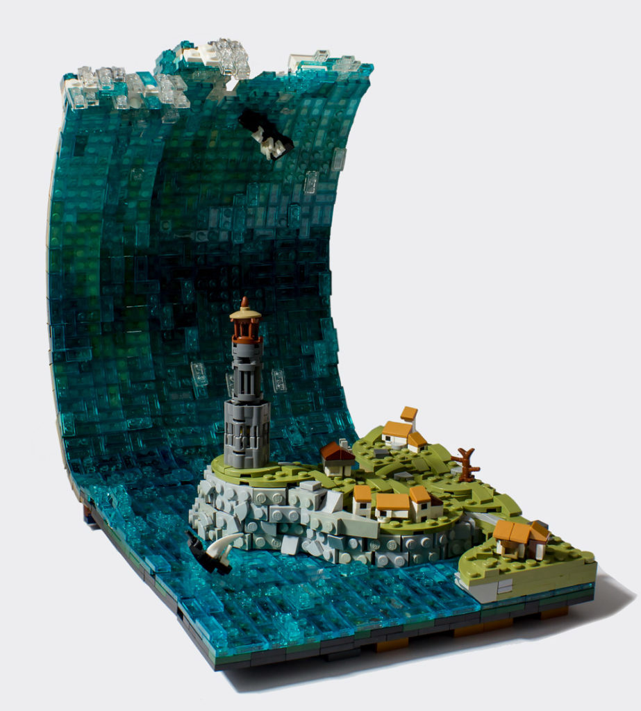 The Lighthouse Keeper Is Going To Have A Bad Day, New Wave Lego MOC