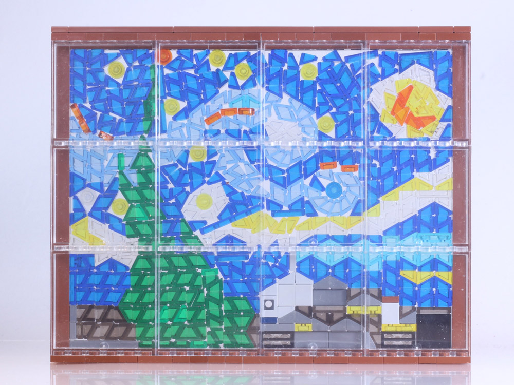 A Starry Night Lego Window