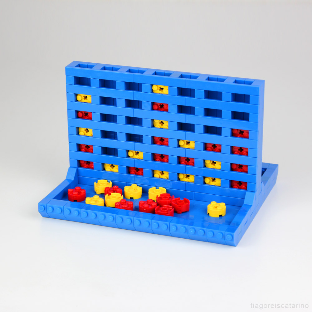 Go For It, Connect Four! - Lego Boardgame MOC