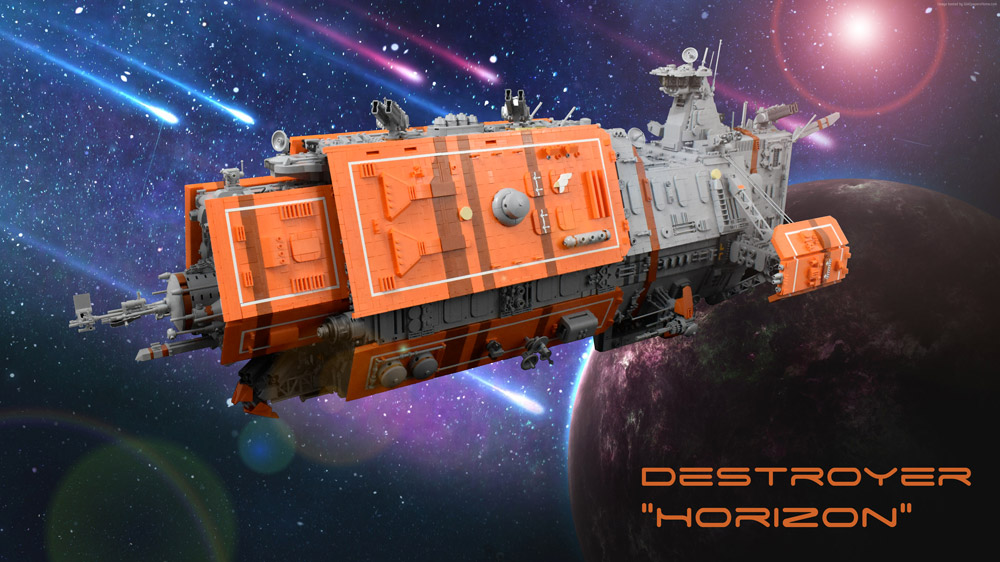 The Lego Horizon Destroyer Is Hiding A Secret, Custom PC