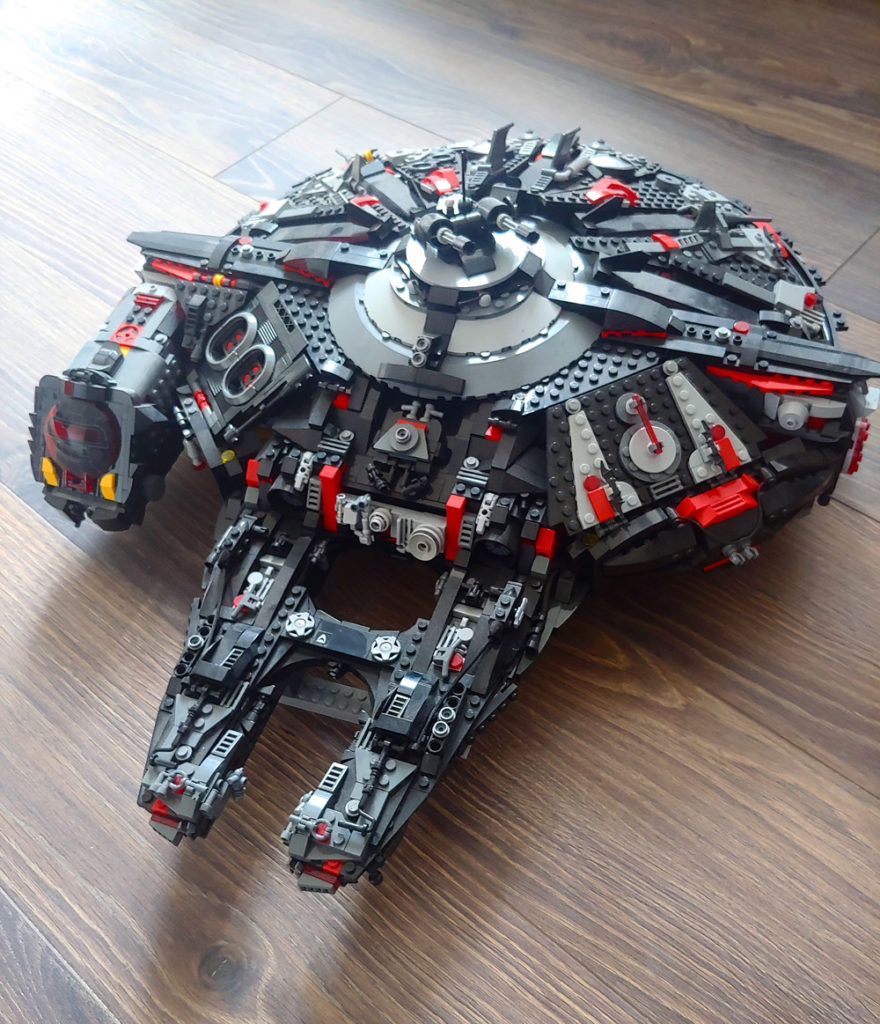 The Millennium Batwing — A Lego Star Wars Batman Crossover