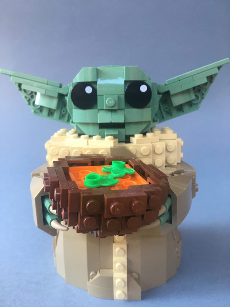 Have Some Soup With Lego Baby Yoda