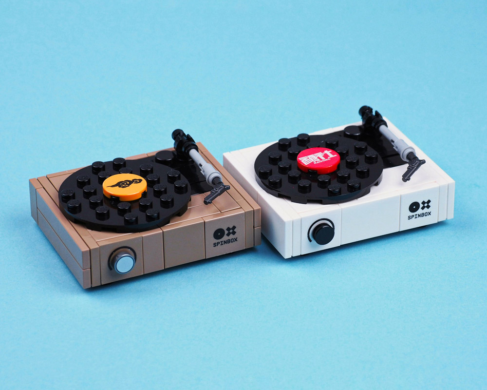 A Lego Spinbox Turntable