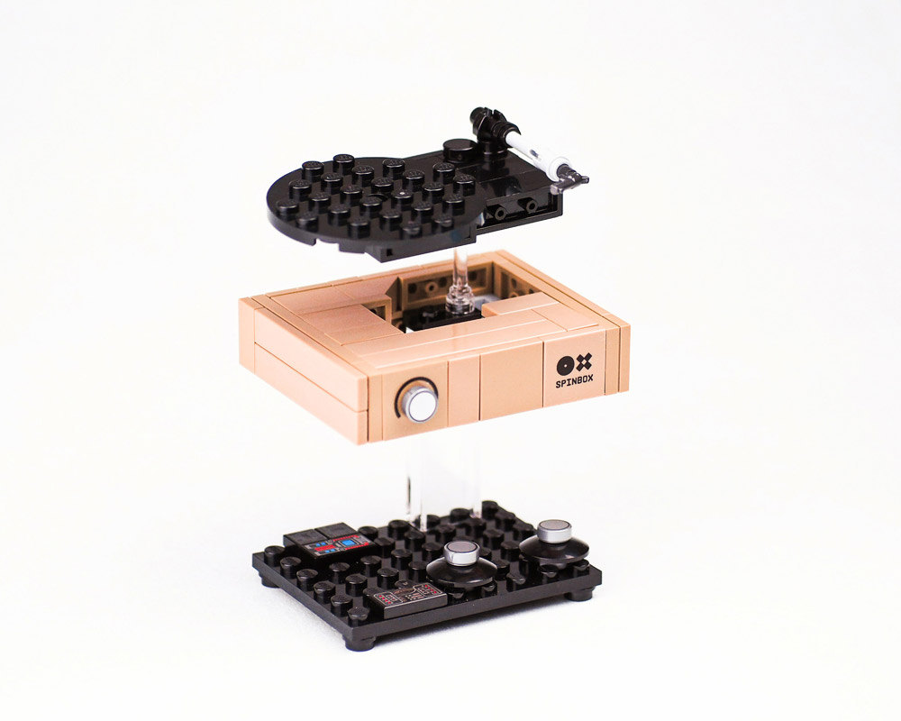 A Lego Spinbox Turntable, Details