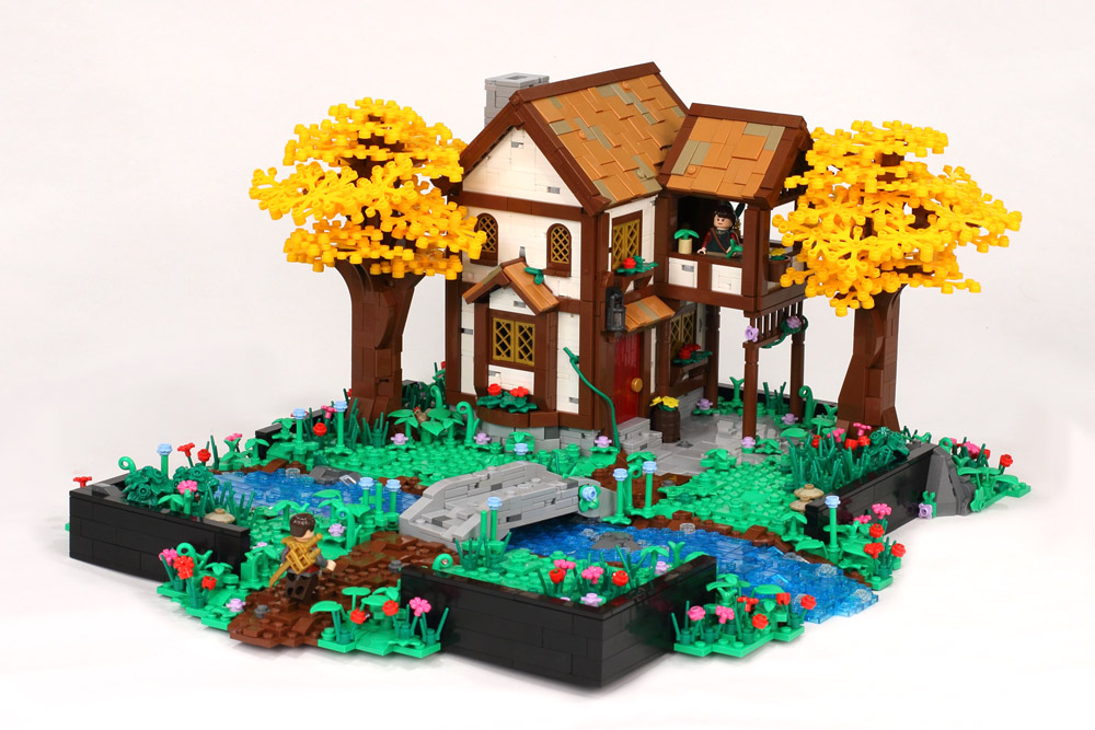 The Golden Forest House - Lego MOC
