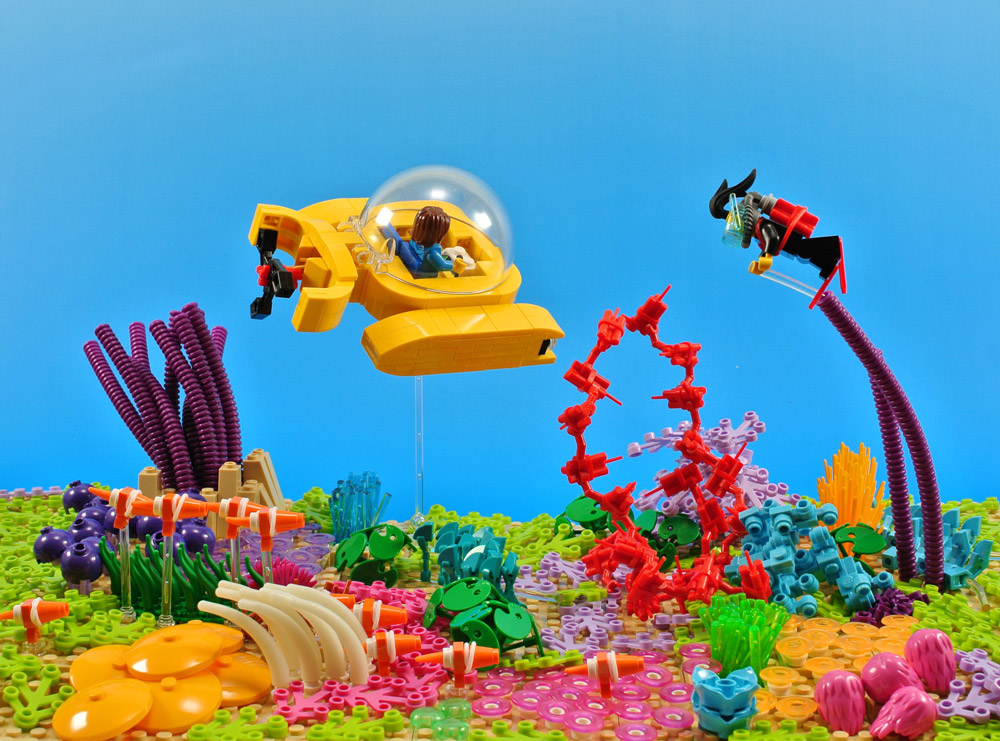 Underwater Sightseeing With Lego