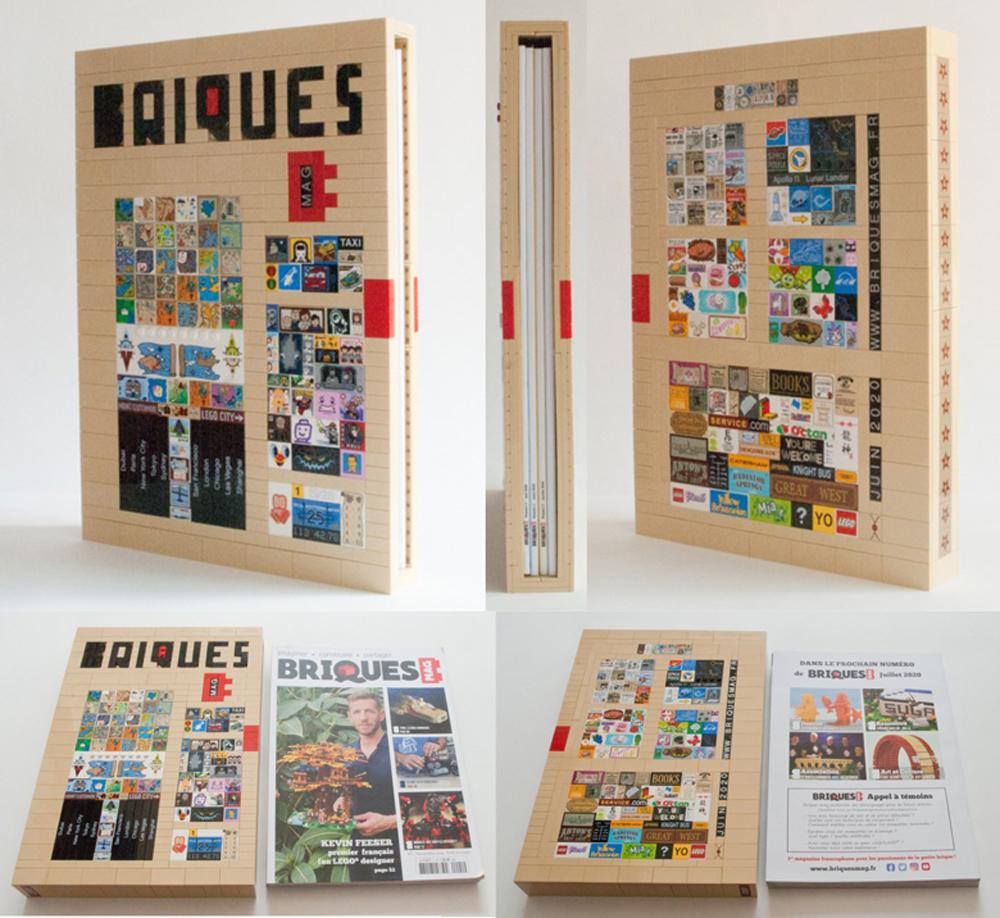 Briques Magazine Lego Case