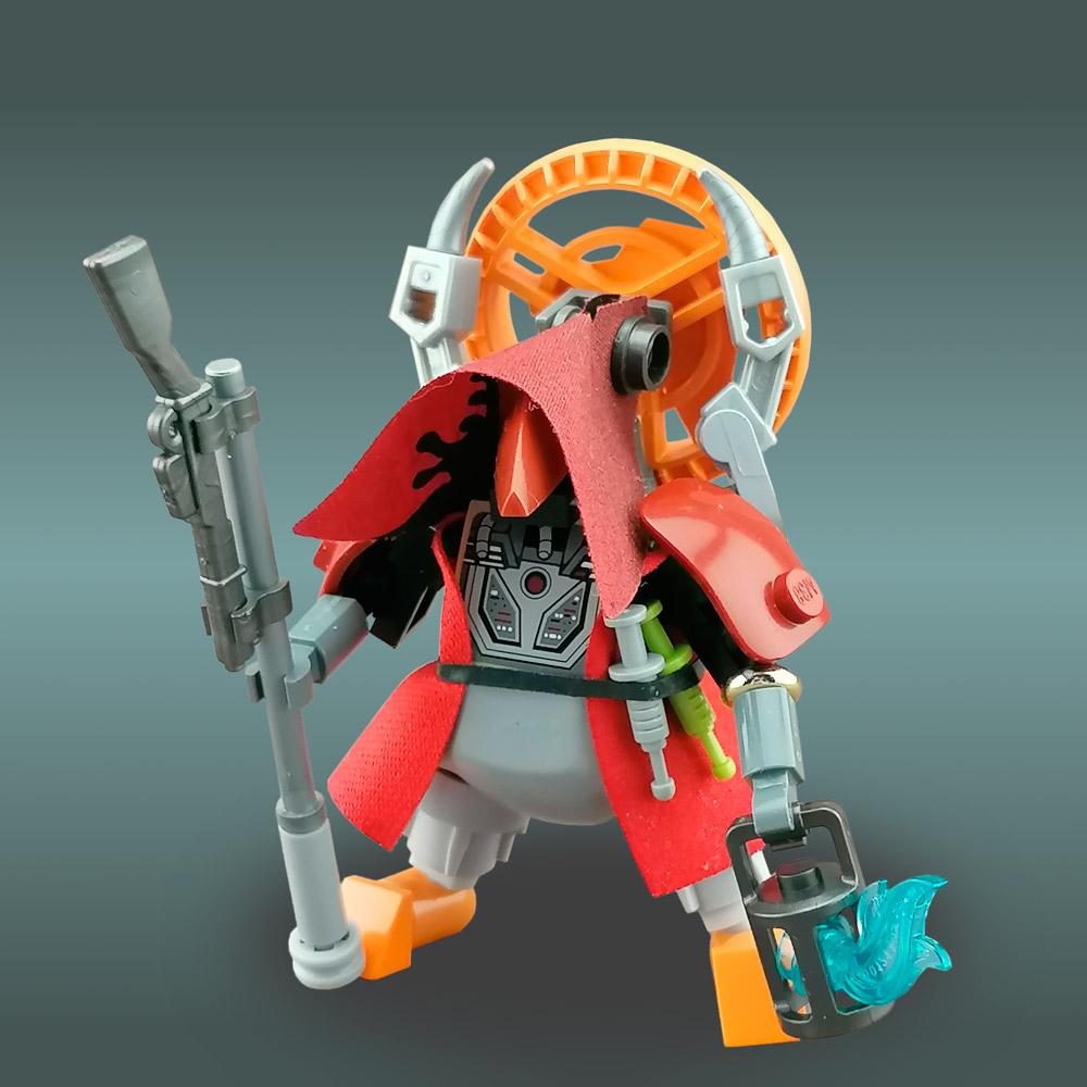 Doctor Novae Fame — Lego Figure