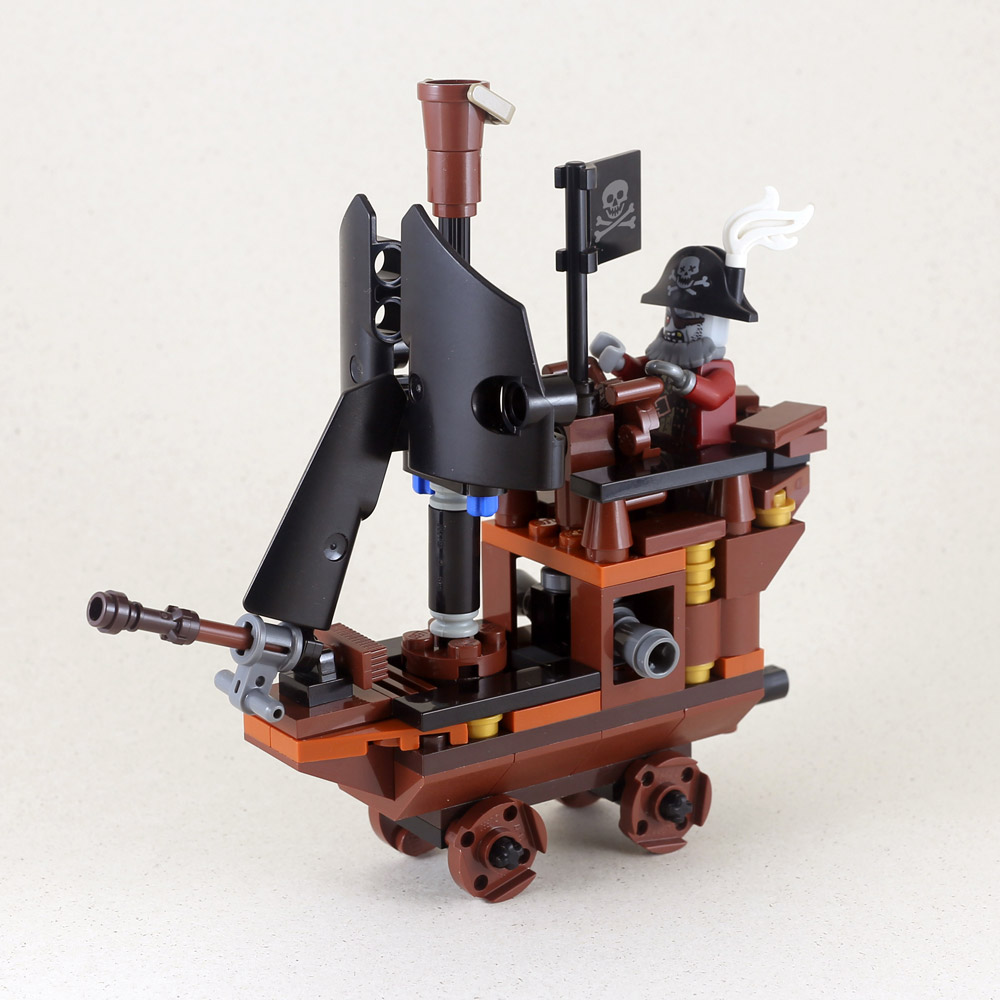 A Cute Zombie Pirate Ship, Lego MOC