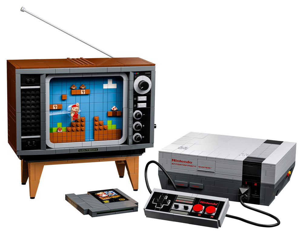 The Lego NES - Nintendo Entertainment System (71374) Announced