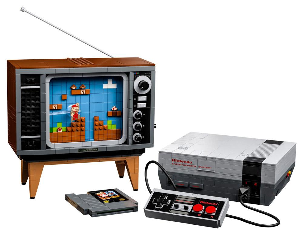 The Lego NES - Nintendo Entertainment System (71374) Announced