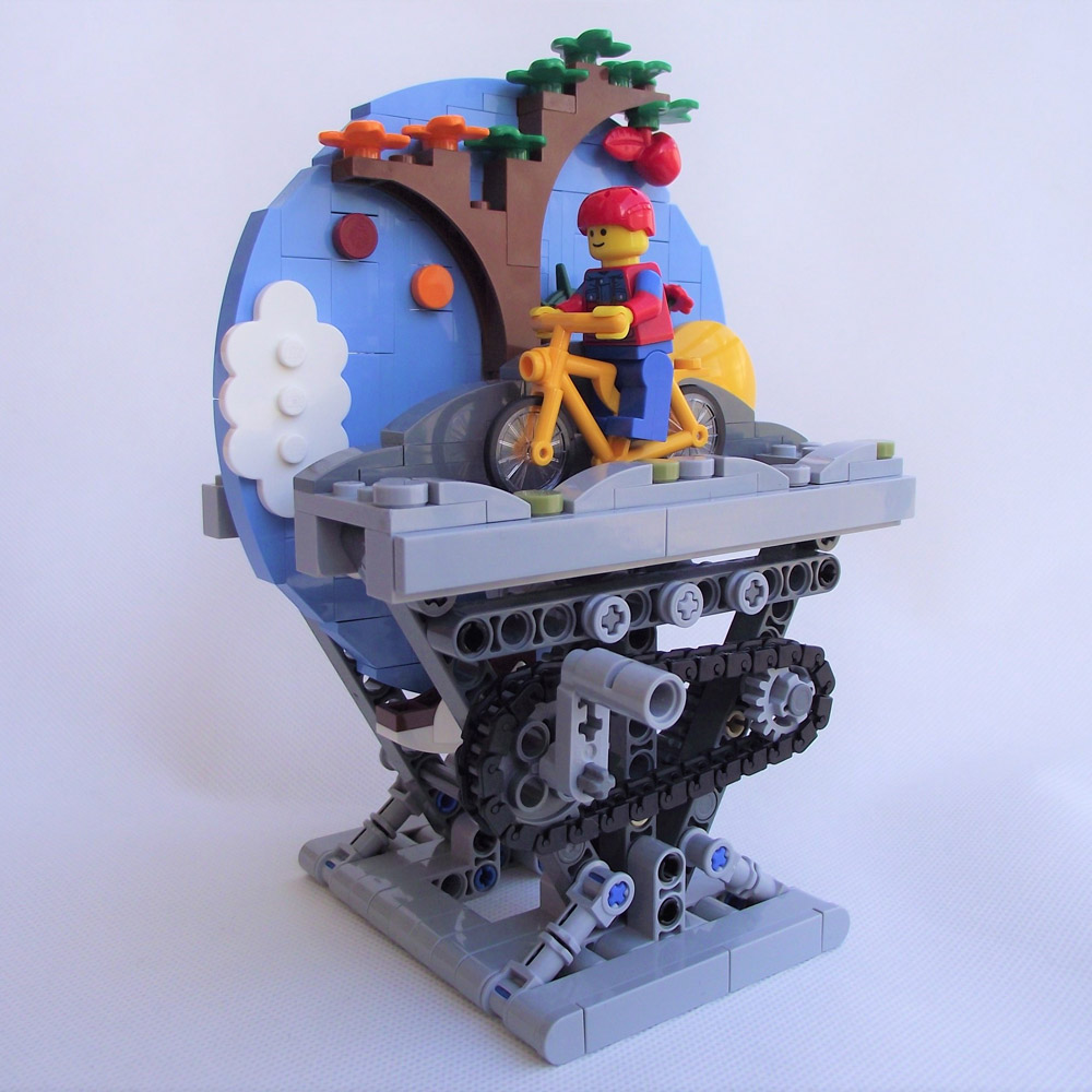 A Bicycle Automaton — Lego Build