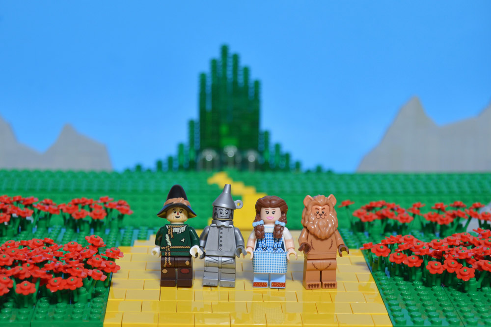 The Wizard Of Oz Lego MOC